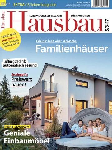 Hausbau 5/6 2017 By Fachschriften Verlag   Issuu