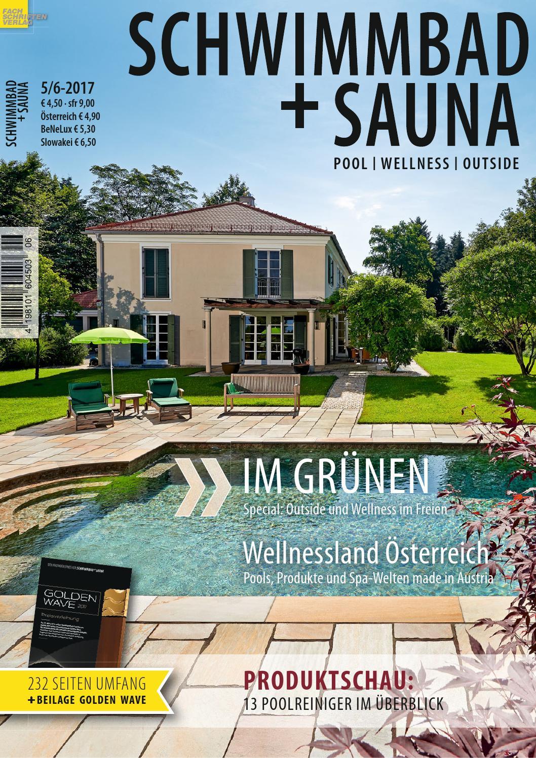 Schwimmbad sauna 5 6 2017 by fachschriften verlag issuu for Grabner pool
