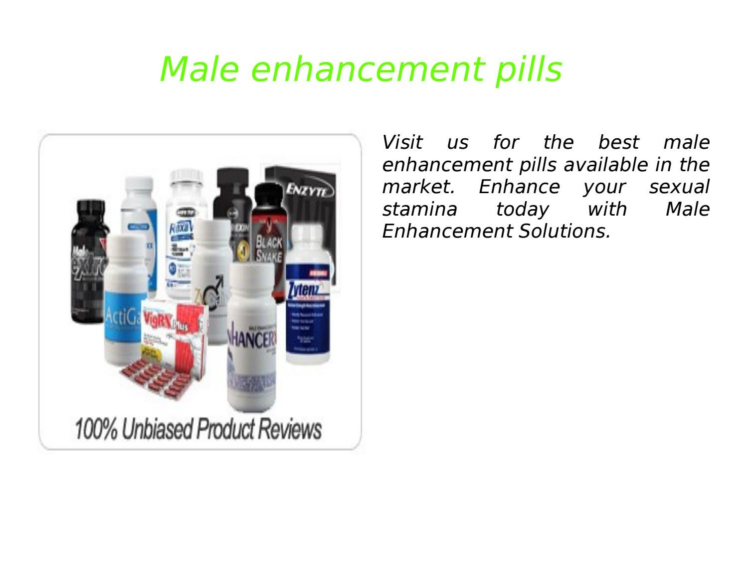 Male Enhancement Pills By William Joshua Issuu