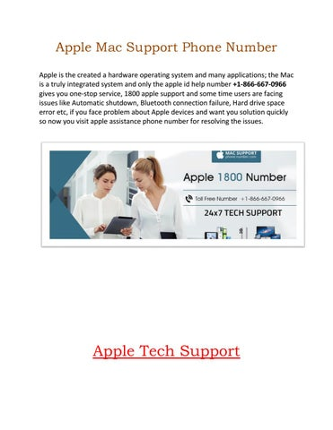 1800 apple support