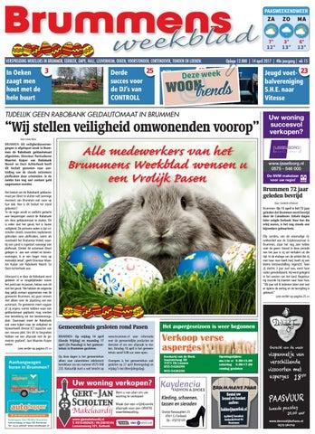 Brummens Weekblad 2017 Wk 15 By Brummens Eerbeeks Weekblad Issuu