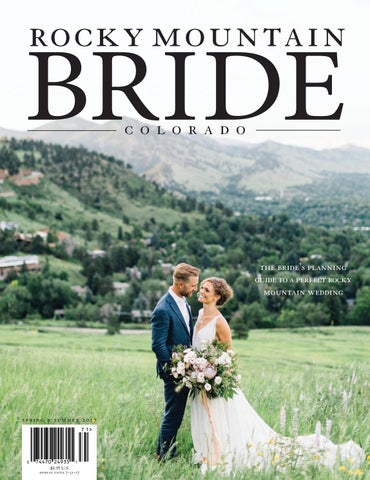 1e0b313dacfd Rocky Mountain Bride Colorado Spring   Summer 2017 by Rocky Mountain ...