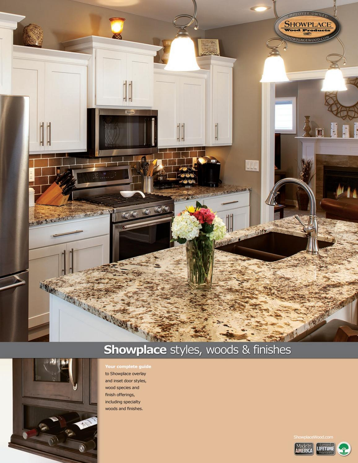Showplace Cabinetry Styles, Woods U0026 Finishes Booklet By Showplace Wood  Products   Issuu