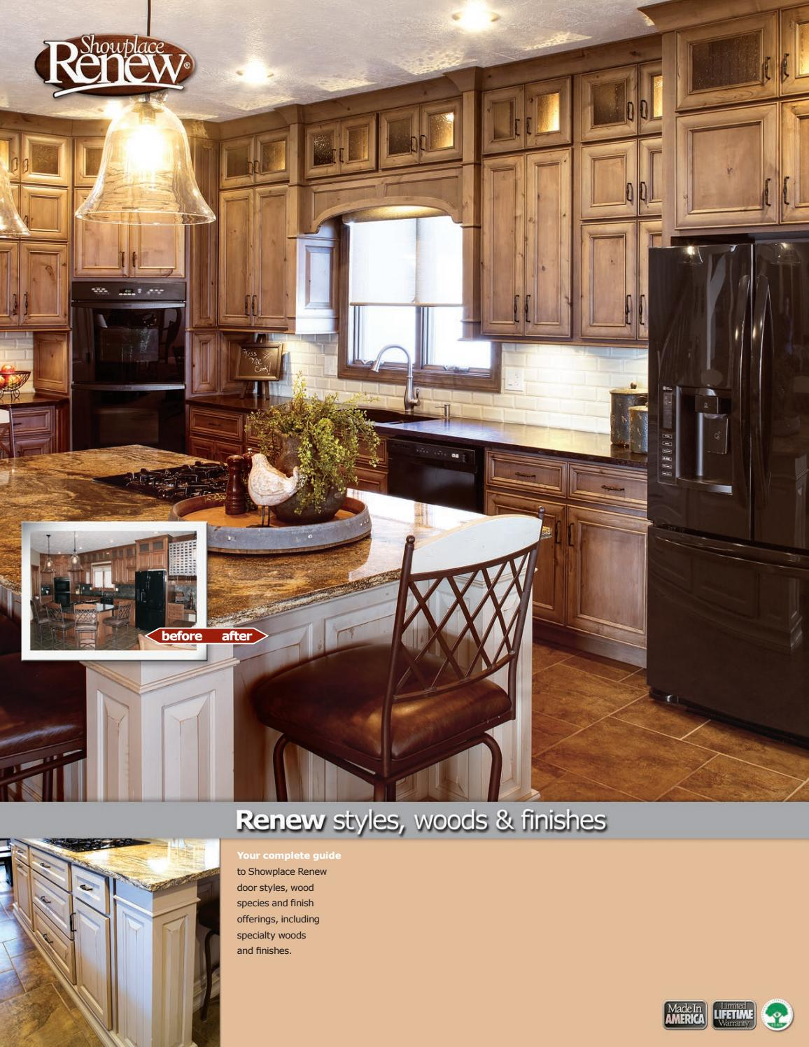 Showplace Renew Refacing Styles, Woods U0026 Finishes Booklet By Showplace Wood  Products   Issuu