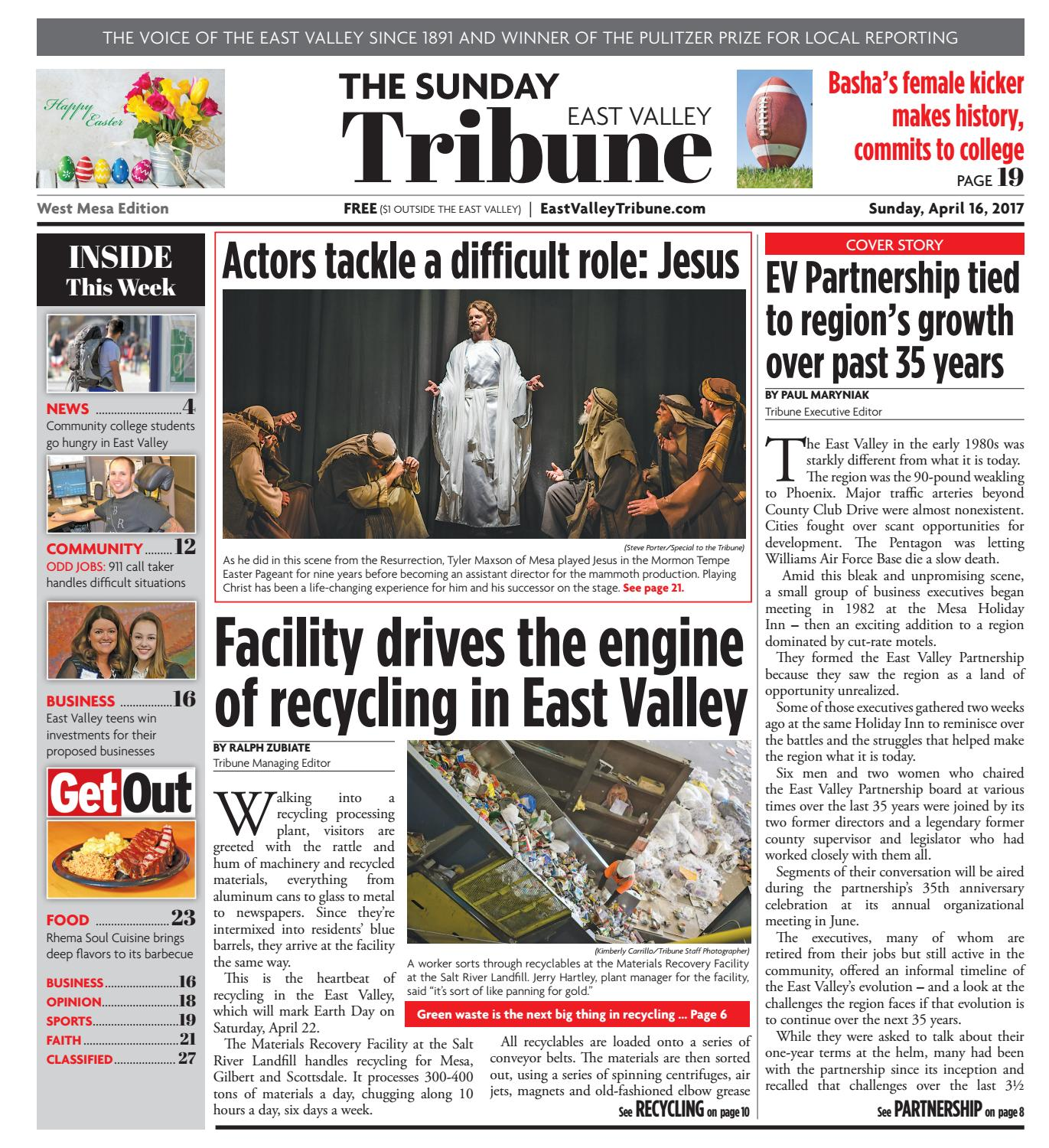 East Valley Tribune: West Mesa Edition - April 16, 2017 by Times ...