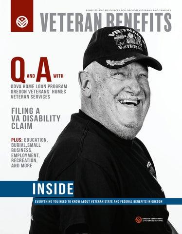 2017 Oregon Veteran Benefits Magazine by Oregon Department