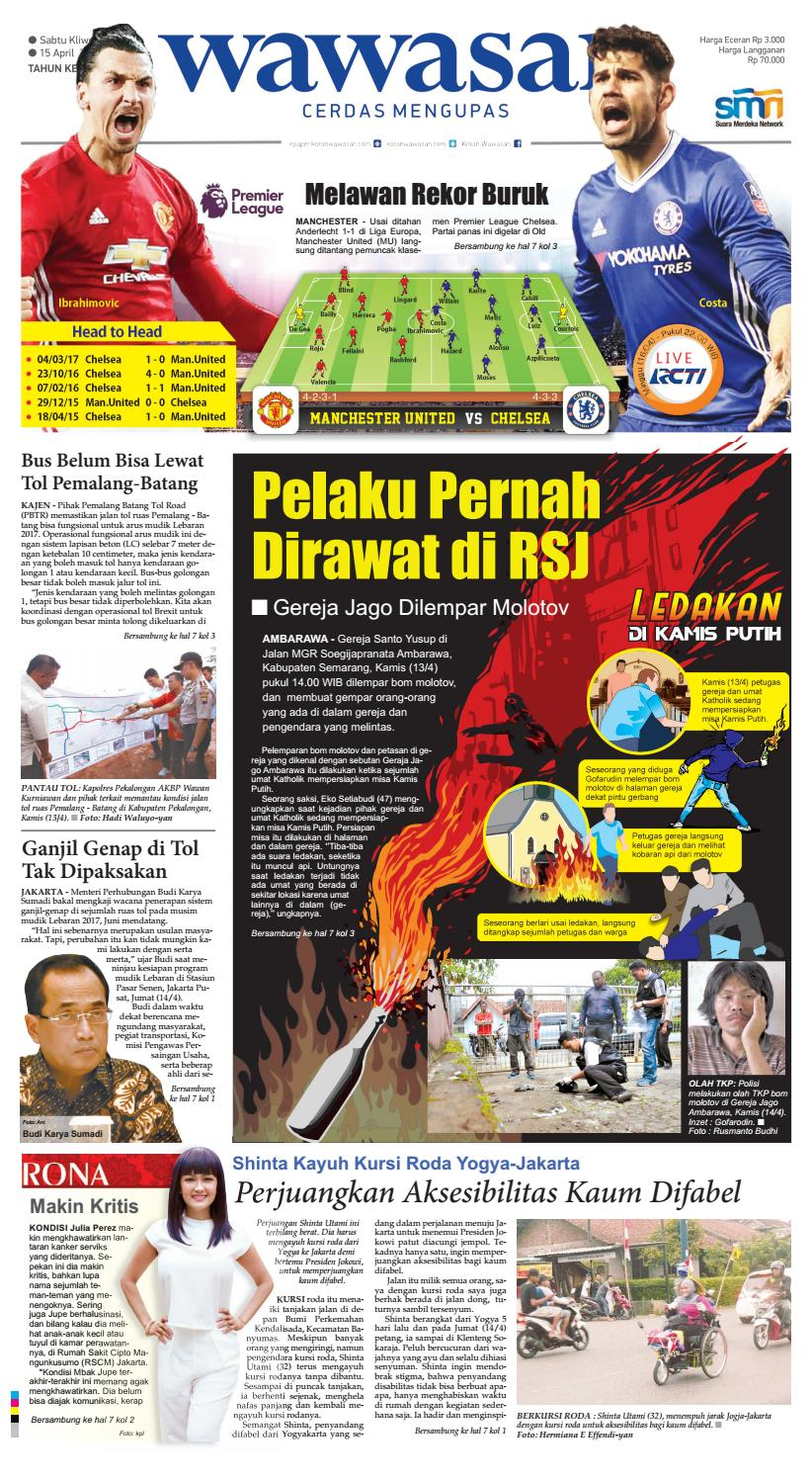 WAWASAN 15 April 2017 By KORAN PAGI WAWASAN Issuu