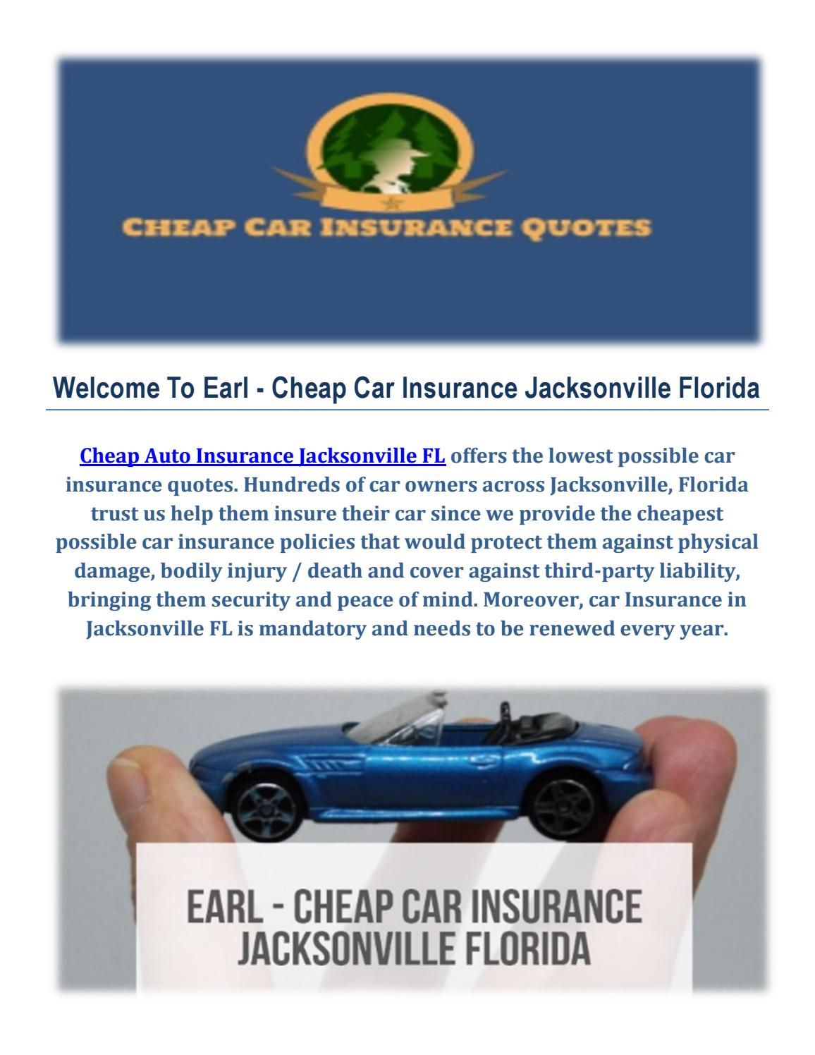 Image Result For Cheap Car Insurance Jacksonville Fl