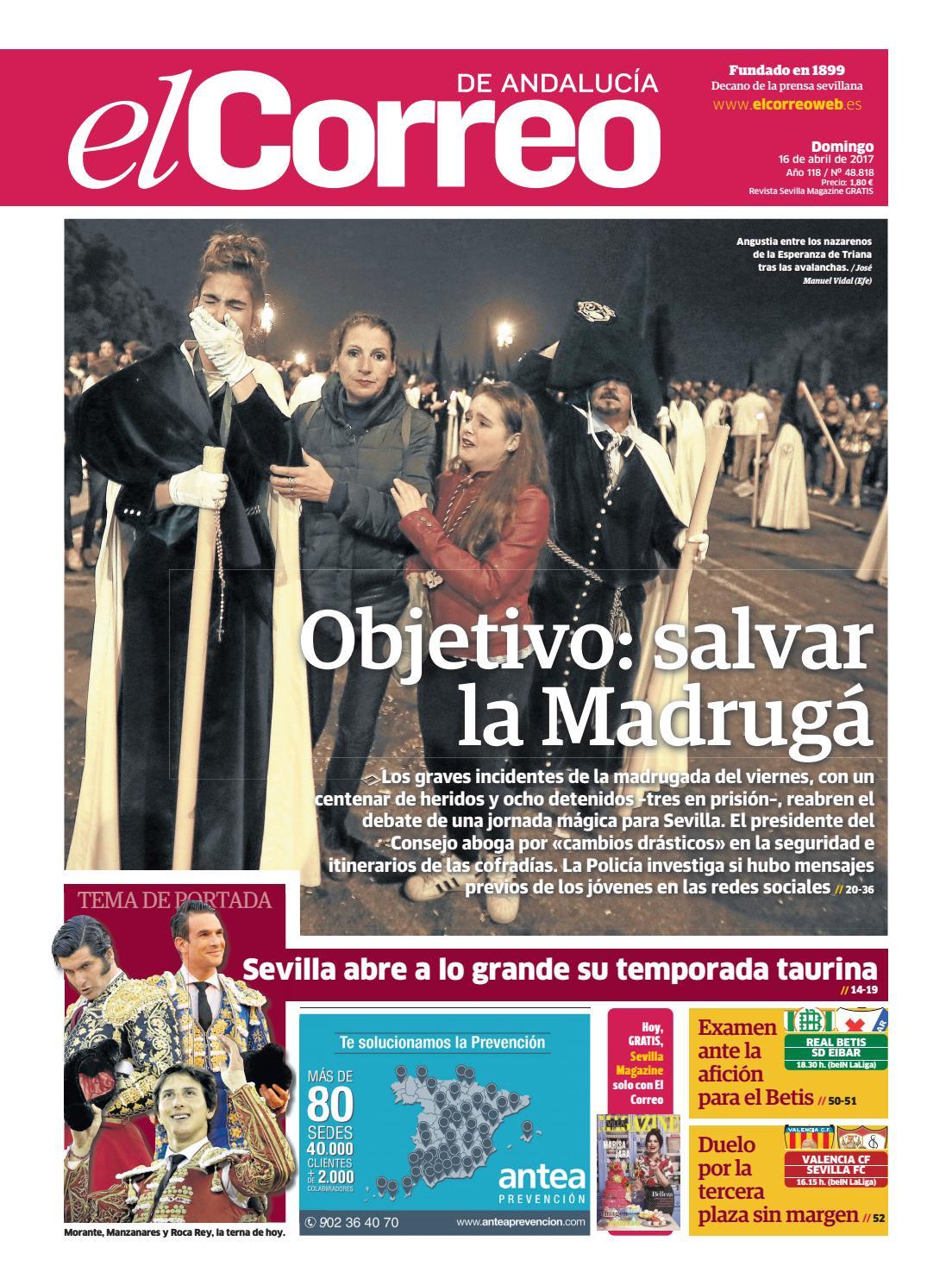 ecd60ca66726f 16 04 2017 El Correo de Andalucía by EL CORREO DE ANDALUCÍA S.L. - issuu