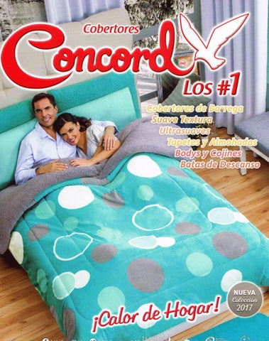Catalogo concord cobertores 2017 by catalogos por internet for Bricoman elmas catalogo 2017