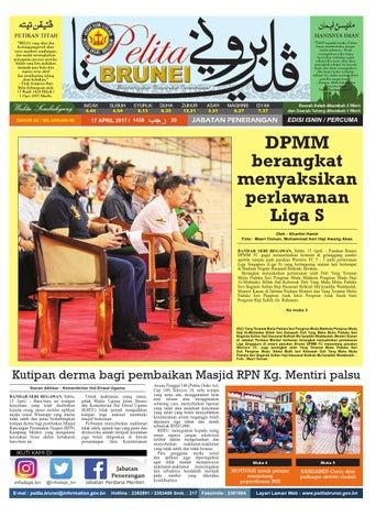 Pelita Brunei Isnin 17 April 2017 By Putera Brunei Issuu