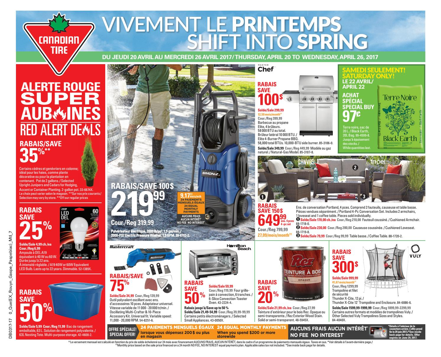 Publisac 2017 flyer ctc wk17 bil 317 0be by salewhale issuu - Matelas souffle canadian tire ...