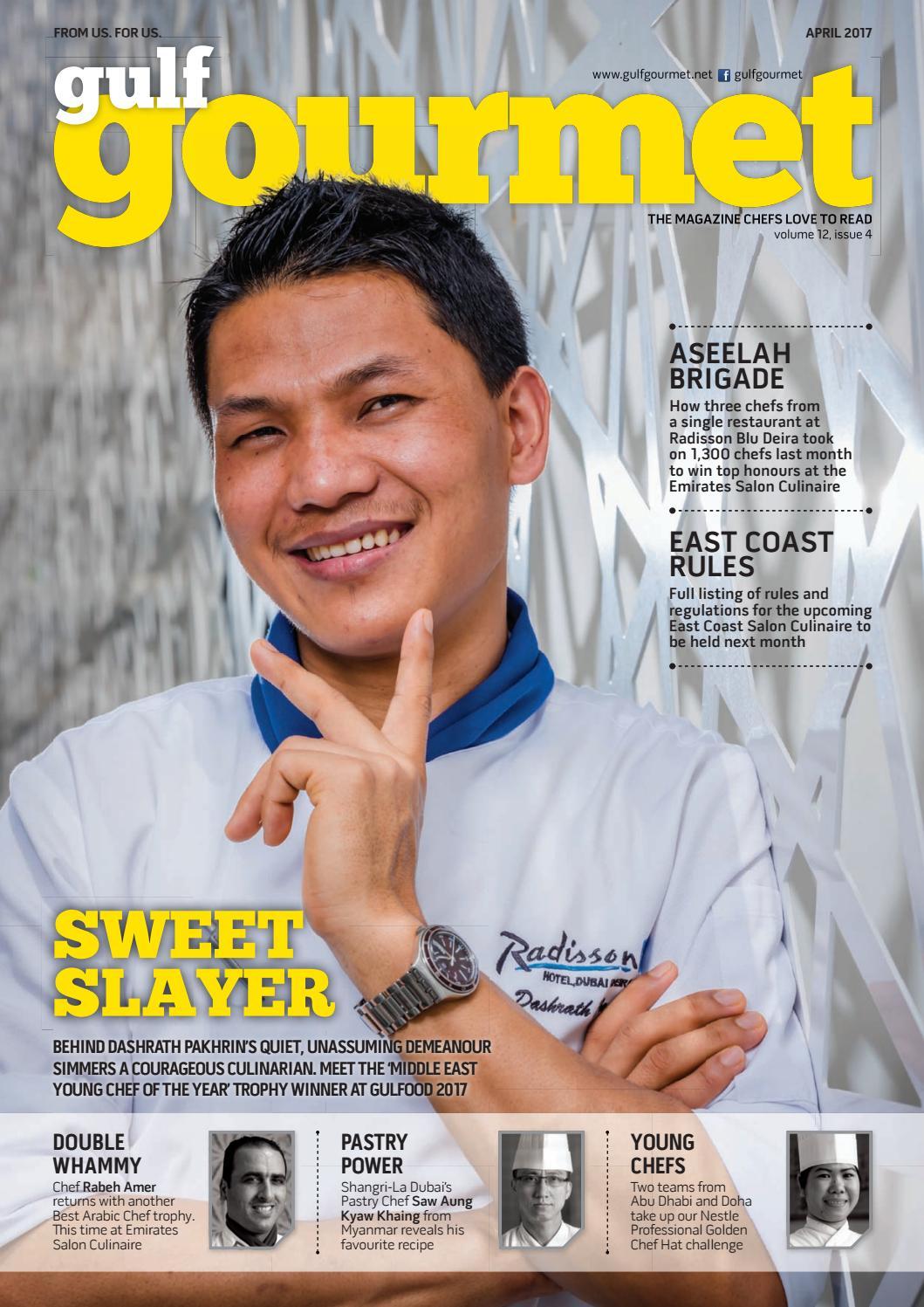 April 2017 By Gulf Gourmet Magazine