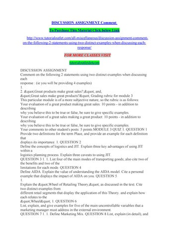 Discussion assignment comment by jorge0049 - issuu