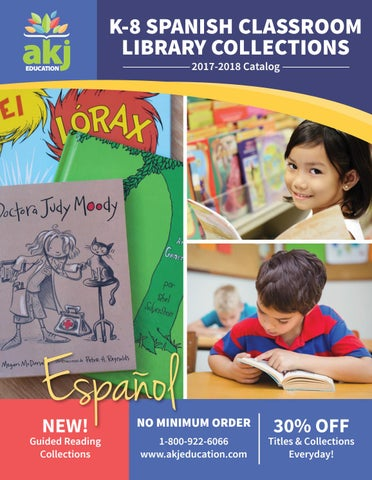 Spanish K-8 Catalog 2017-2018 by AKJ Education - issuu