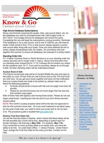 Know & Go Volume 4   Issue 14 by Klindskog - issuu