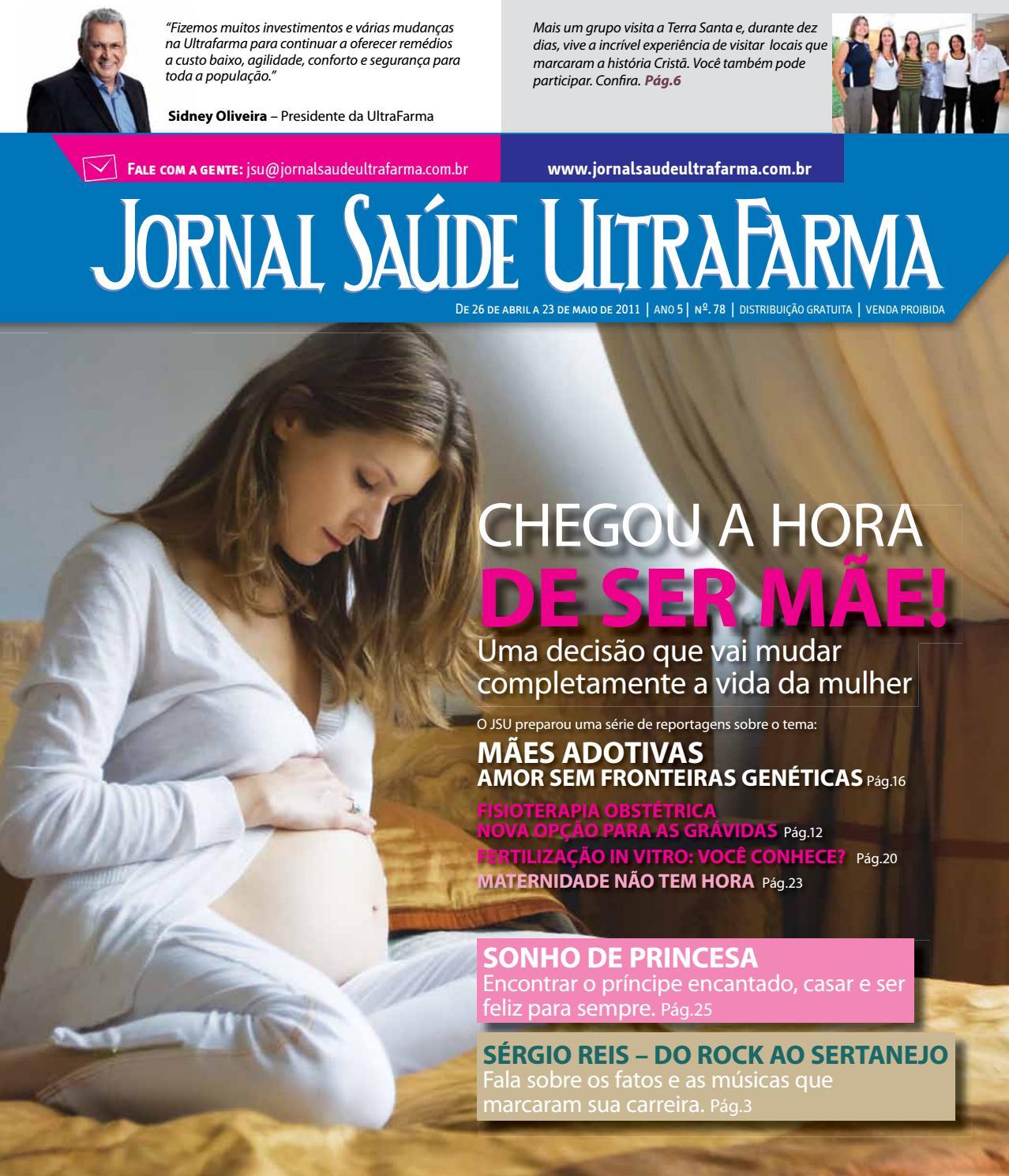 f23e89e409cfc Jornal Saúde Ultrafarma 078 by Ultrafarma - issuu