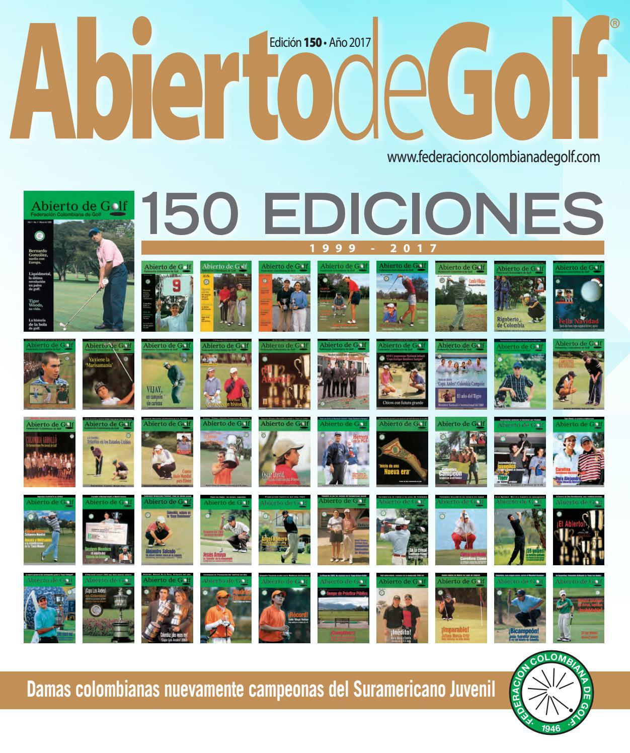 Abierto de Golf - Edición 150 by Prensa Fedegolf - issuu f45eda9a81198