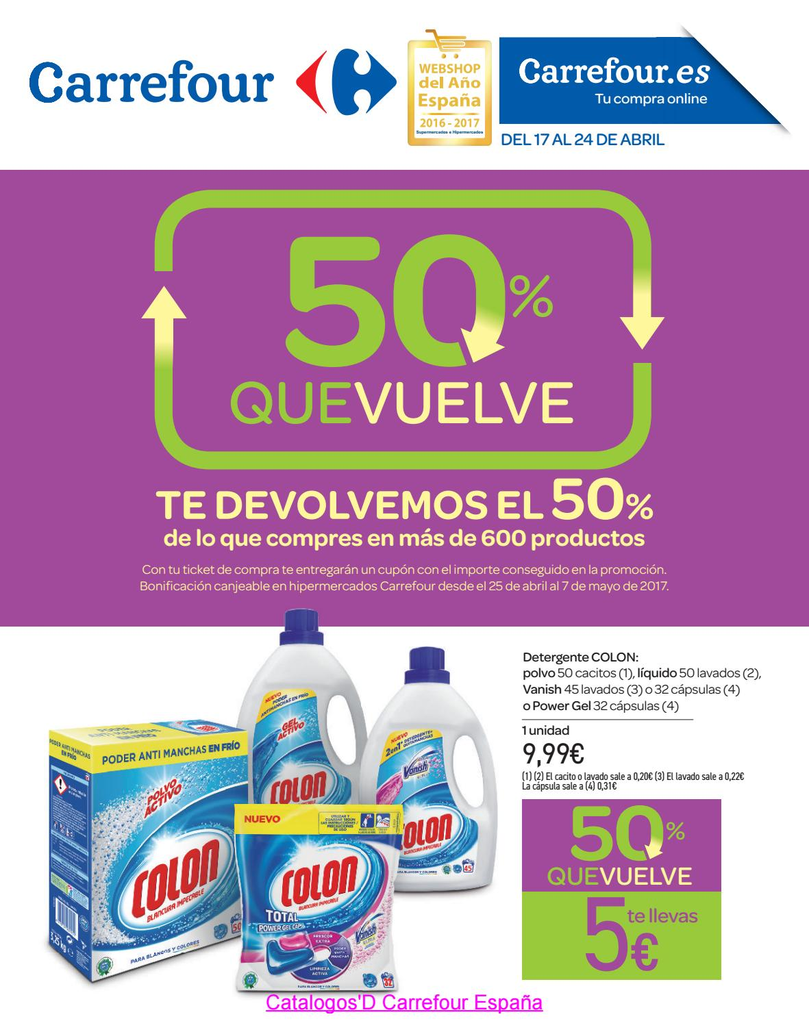 Ofertas Carrefour 50 Abril 2017 By Catalogosd By Revistas En Linea Issuu