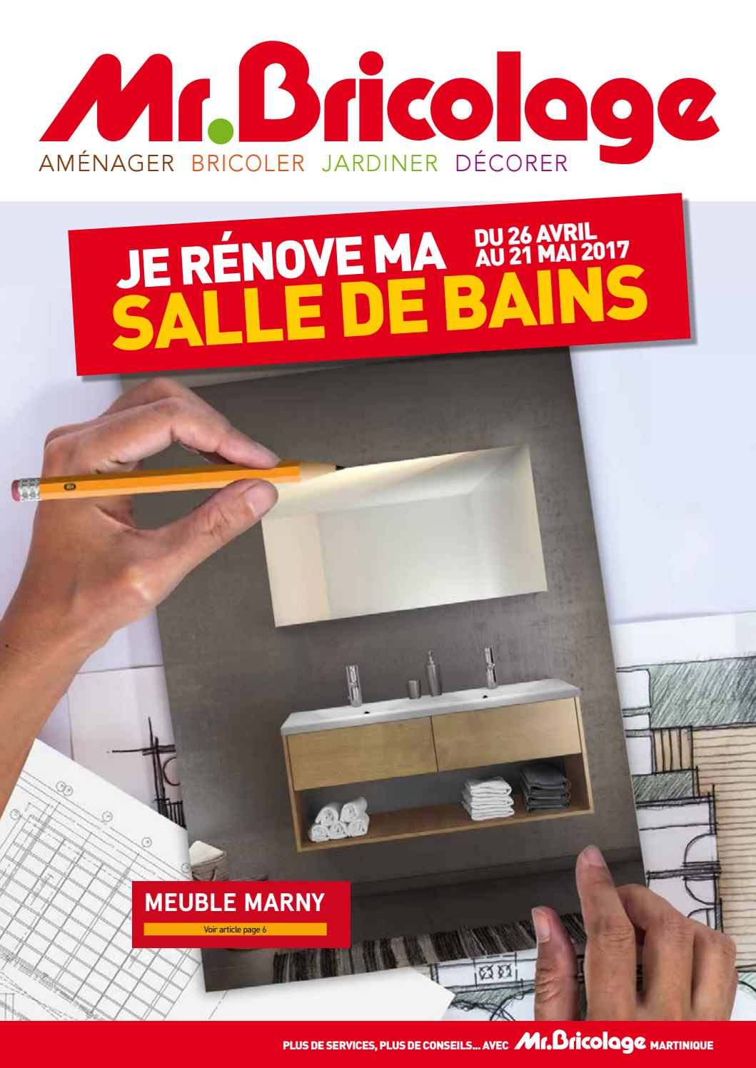 salle de bain mr bricolage cool meuble salle de bain mr bricolage meuble lave main pix jaune. Black Bedroom Furniture Sets. Home Design Ideas