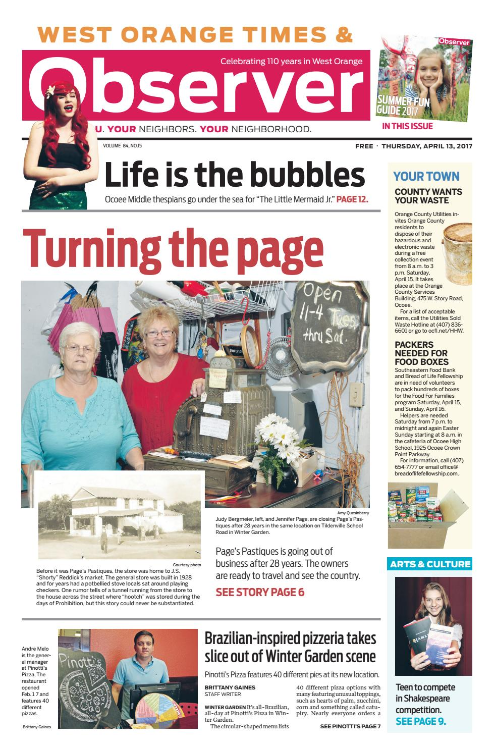 04 13 17 west orange times u0026 observer by orange observer issuu