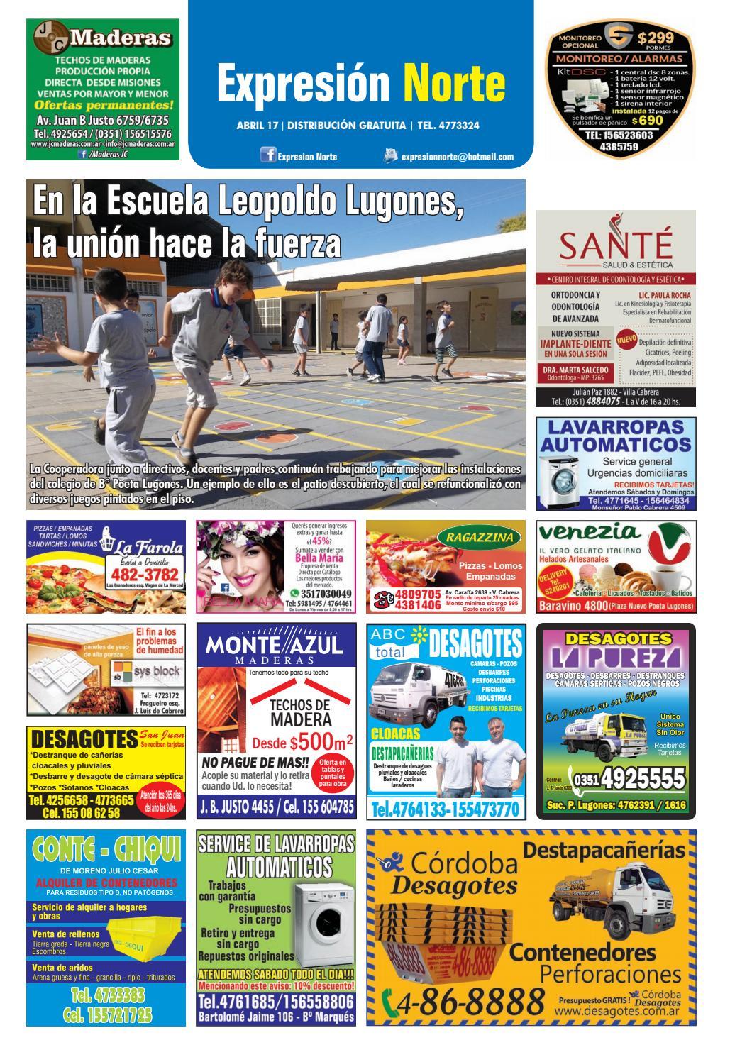 Diario Expresi N Norte Edici N Julio 2016 By Fiestas Sucesos  # Muebles Celso Ubeda