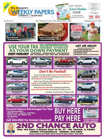 Instant Credit Auto Mart >> The Shopper S Weekly Centralia Salem Area By Scott