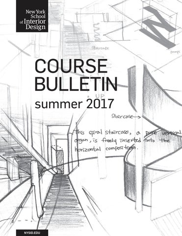 Summer 2017 Course Bulletin