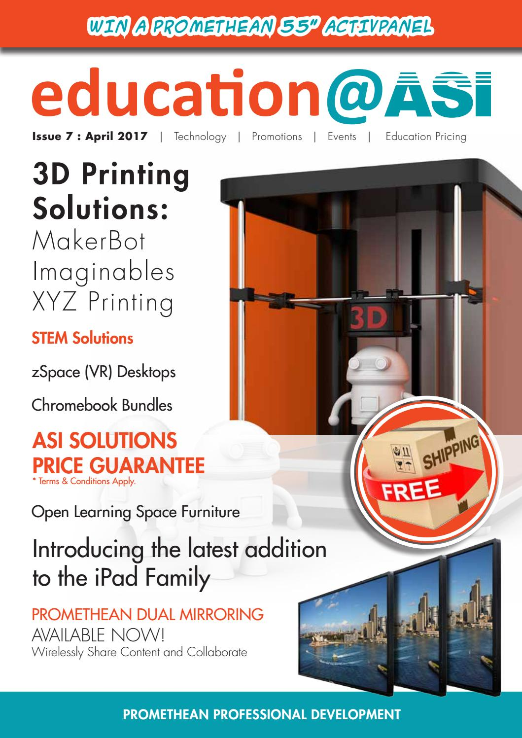 ASI Solutions Education Catalogue Issue 7, 2017 (AUSTRALIA