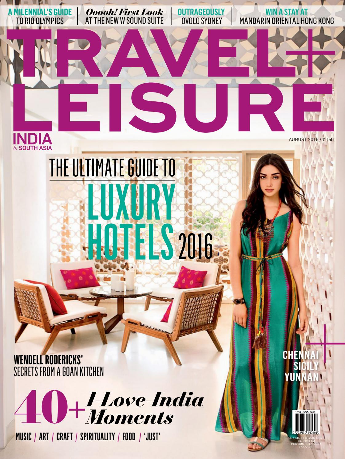 b8576b96a8a7 Travel leisure India by Passion International Travel   Tours - issuu