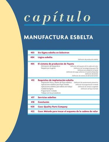 Manufactura esbelta alquilano bibliografia básica by Juan Chávez - issuu