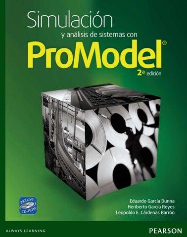3a0010500 Simulación y análisis de sistemas con promodel, 2da edición e garcía ...