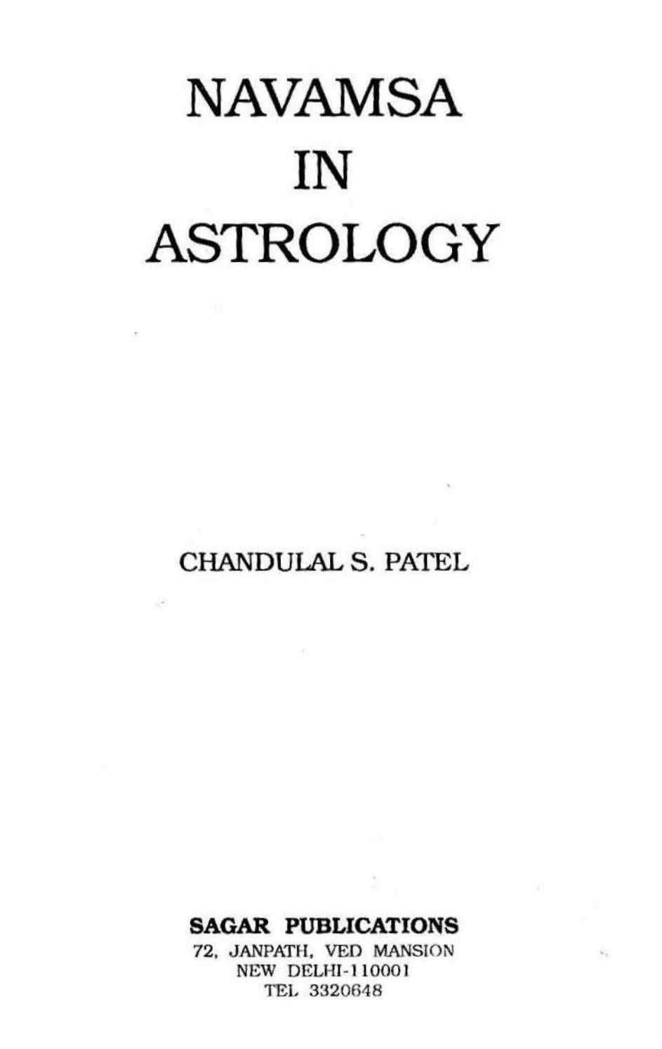Navamsa In Astrology By Nageswara Rao Issuu Rao want to come and go when k. navamsa in astrology by nageswara rao