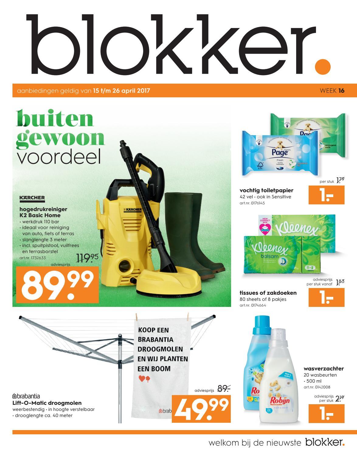 keukentegels groot : De Blokker Folder Blokker Folder Week 16 2017 By Publisher_81_nl