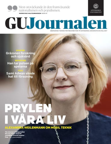 GU Journalen 2-2017 by University of Gothenburg - issuu 6623a9cd54c4b
