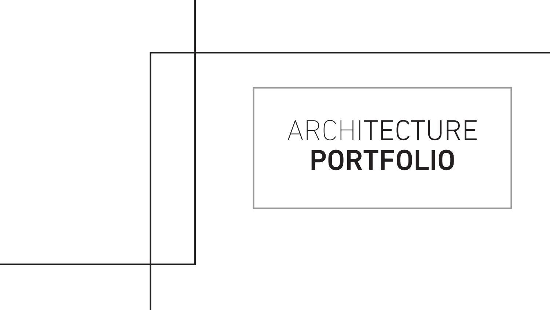 architecture portfolio by k sabarathinam