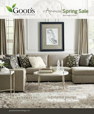 Good s Home Furnishings Annual Spring Sale 2017. Goods Home Furnishings   issuu