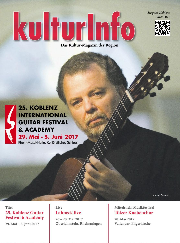 KulturInfo Mai 2017 By Kulturverlag Gnther Schmitz