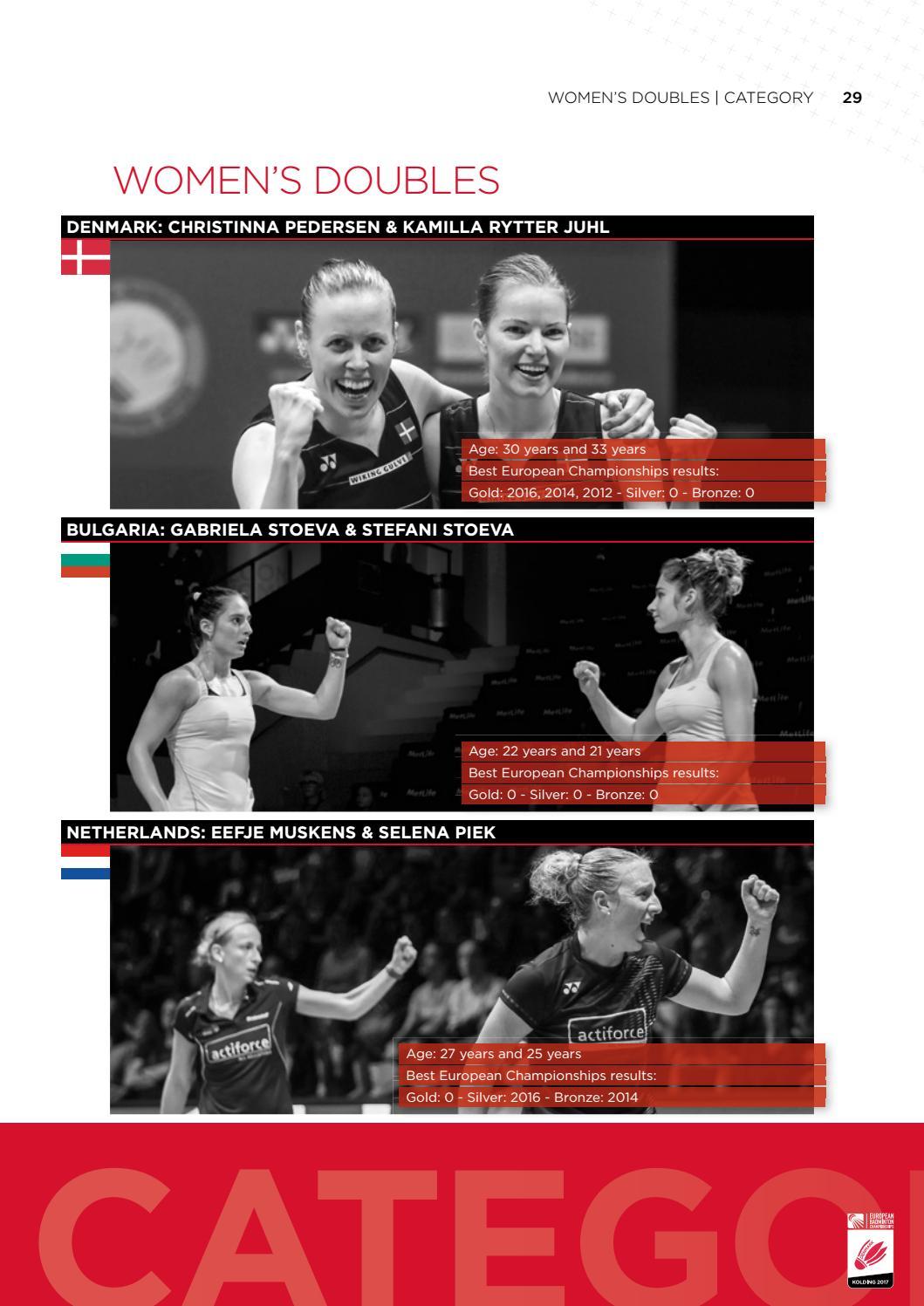 Badminton Magazine European Championships 2017 by Badminton