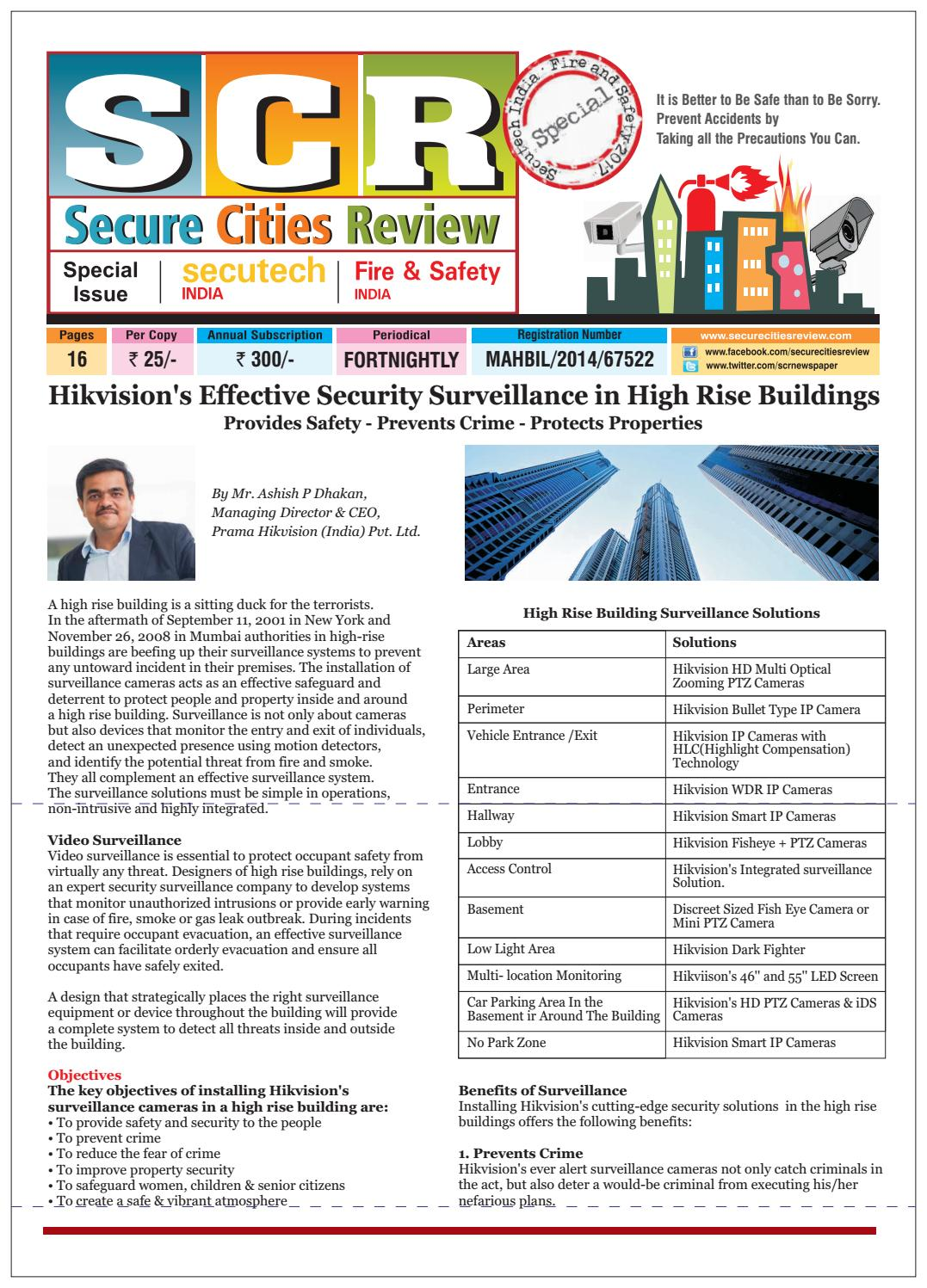 SECURE CITIES REVIEW NEWSPAPER