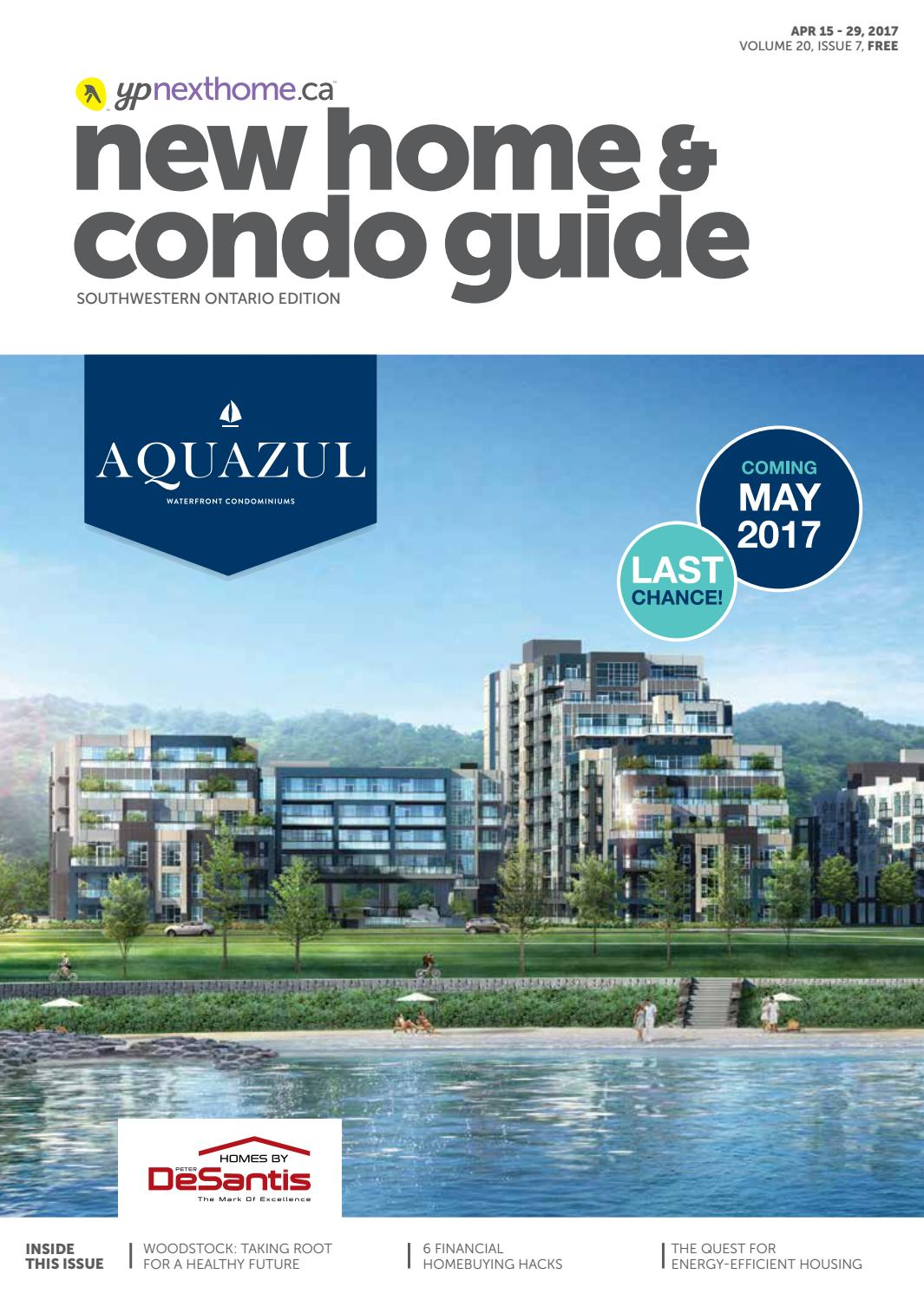 Southwestern Ontario New Home and Condo Guide - Apr 15, 2017 by ...