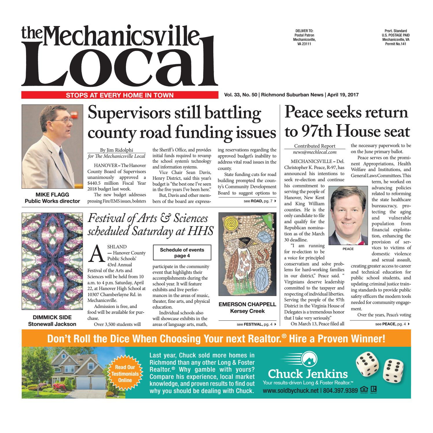 04/19/17 by The Mechanicsville Local - issuu