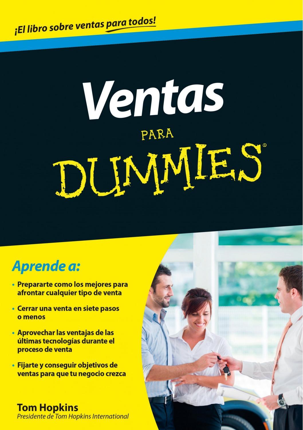 Ventas Para Dummies by yosoyelgaiusclaudius - issuu