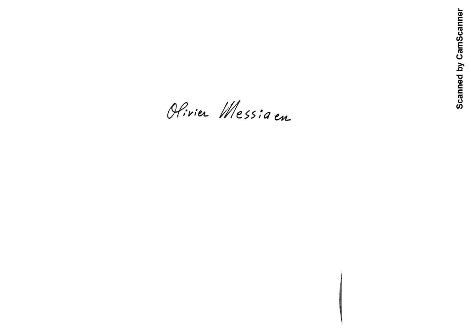 save off 3b4c6 dabf4 Olivier Messiaen Music and Color Conversations with Claude Samuel by guxmux  - issuu