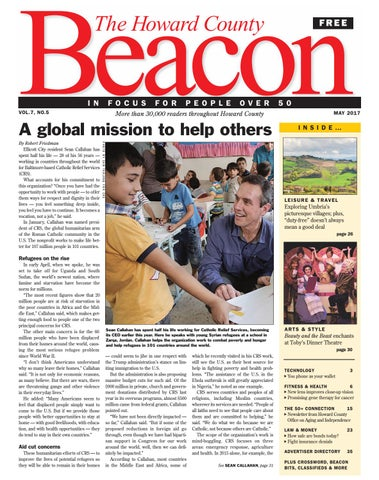 May 2017 | Howard County Beacon by The Beacon Newspapers - issuu