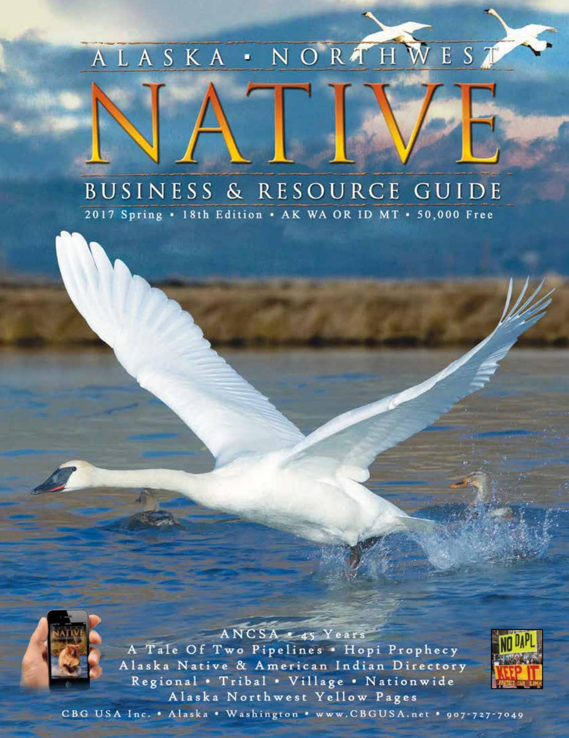 Alaska Northwest Native Business & Resource Guide 18th Ed