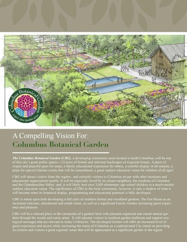 a compelling vision for columbus botanical garden the columbus botanical garden cbg a developing community asset located in north columbus - Columbus Botanical Garden