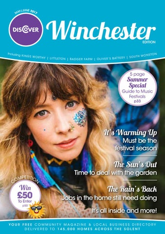 Discover Winchester May/June 2017 by Tania Houston - issuu