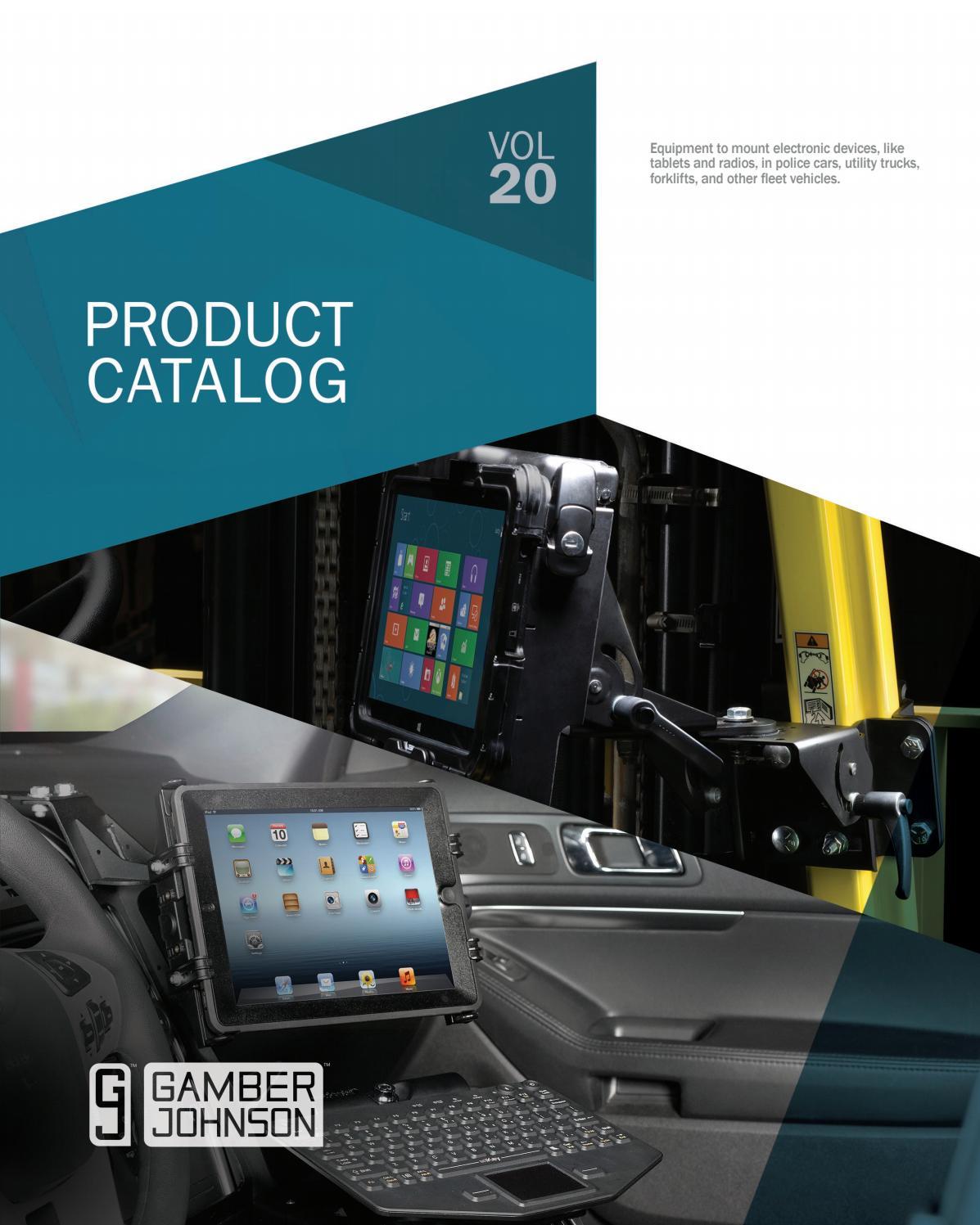 Gamber-Johnson Product Catalog 2017 by Gamber-Johnson - issuu