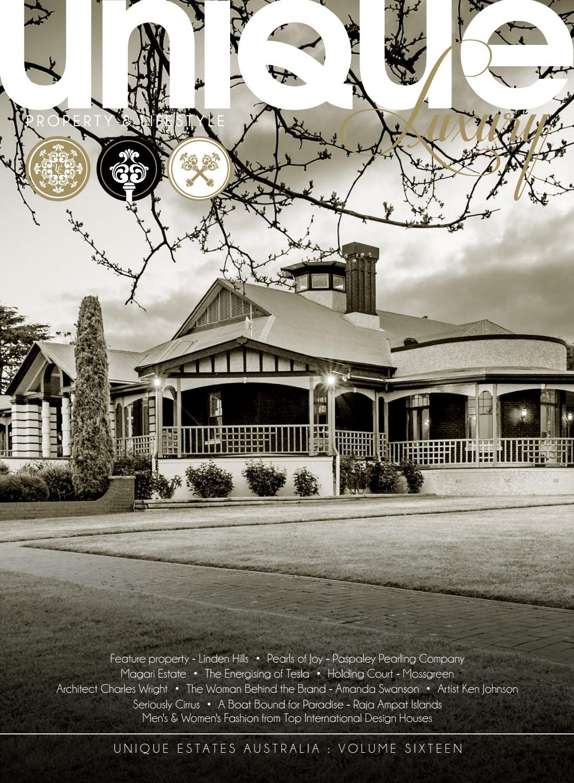 12793a932f Unique Luxury Magazine - Volume 16 by Unique Estates Australia - issuu